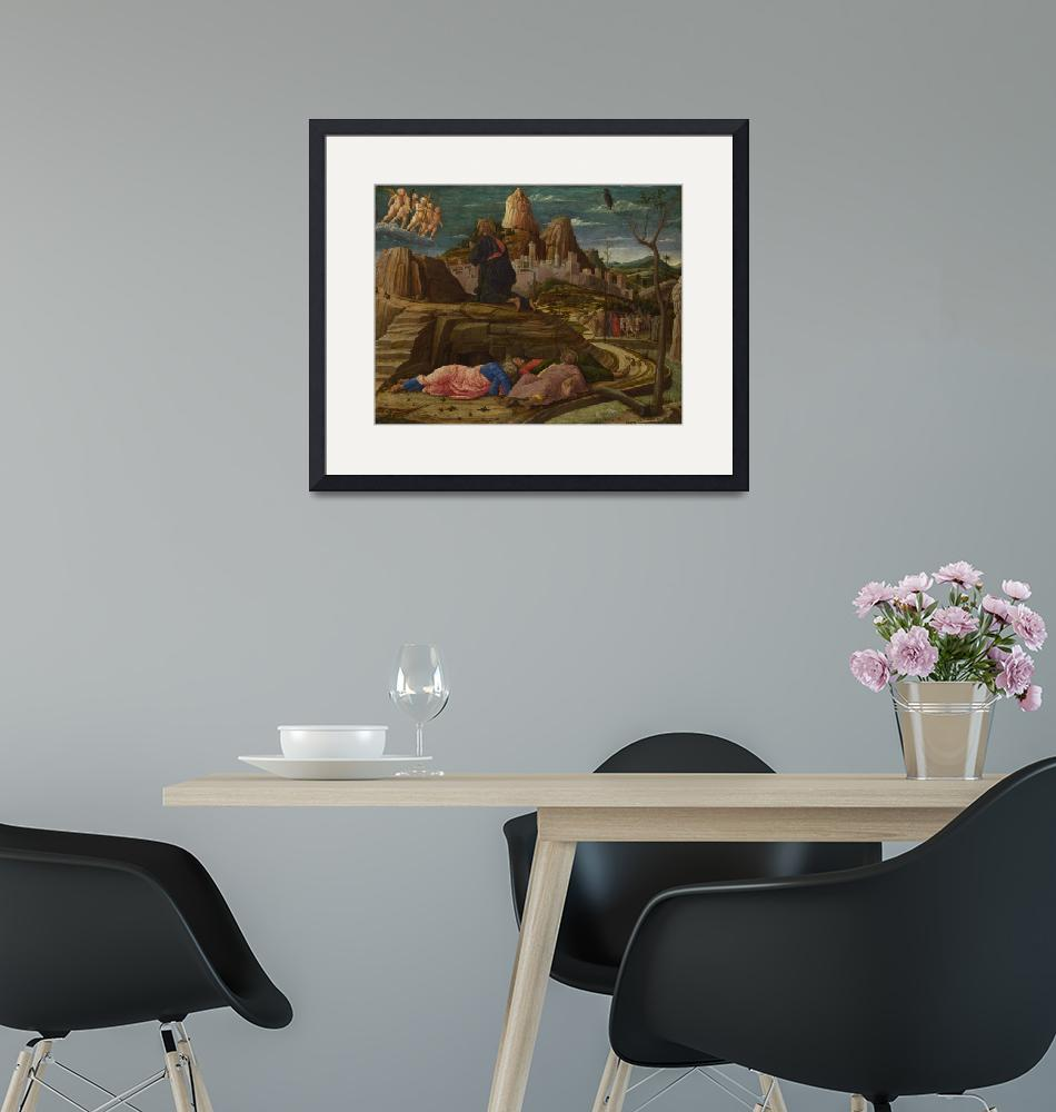 """""""Andrea Mantegna - The Agony in the Garden""""  by ArtistiquePrints"""