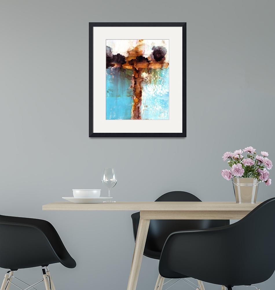 """""""Abstract Cross 2""""  (2018) by StacyHollinger"""