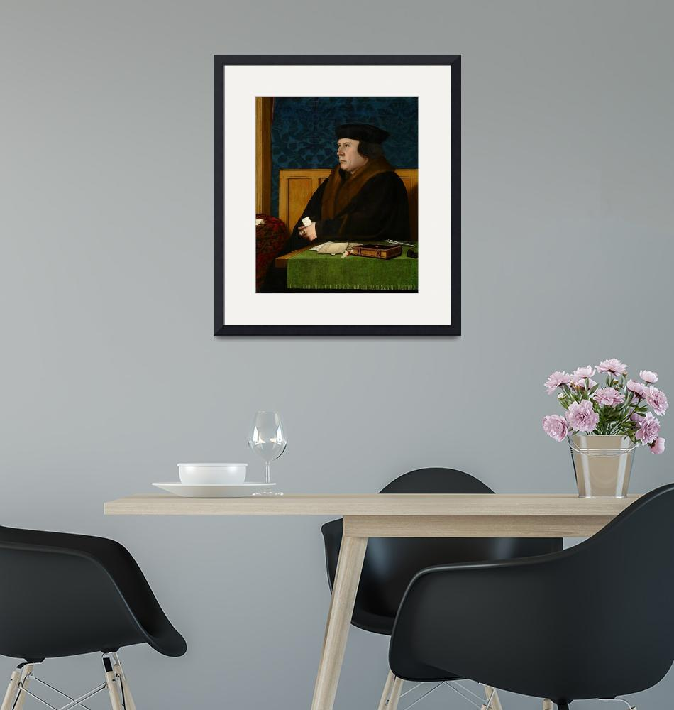 """""""Hans Holbein the Younger~Thomas Cromwell""""  by Old_master"""