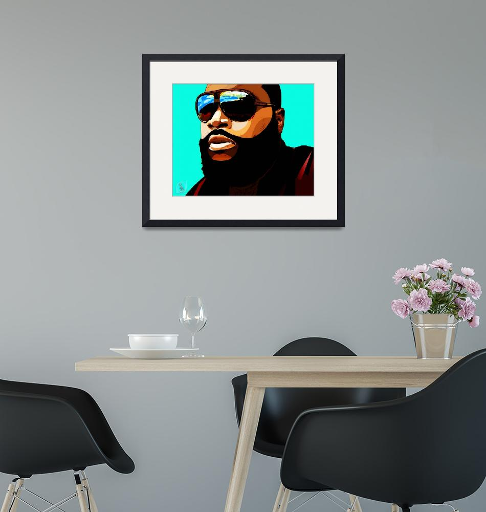 """Rozay""  (2012) by D77TheDigArtisT"
