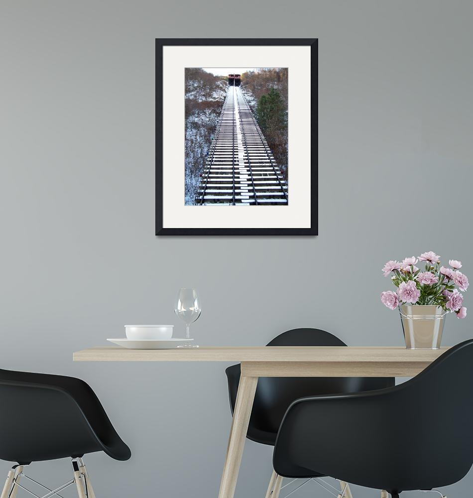 """Johnstown Pa Incline""  (2009) by Klookhart"