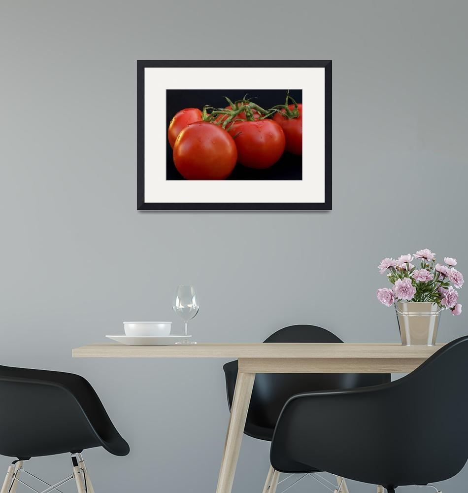 """""""Group of Red Tomatoes""""  by OJPHOTOS"""