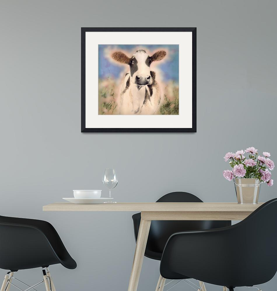 """""""cow"""" by MichaelGodey"""