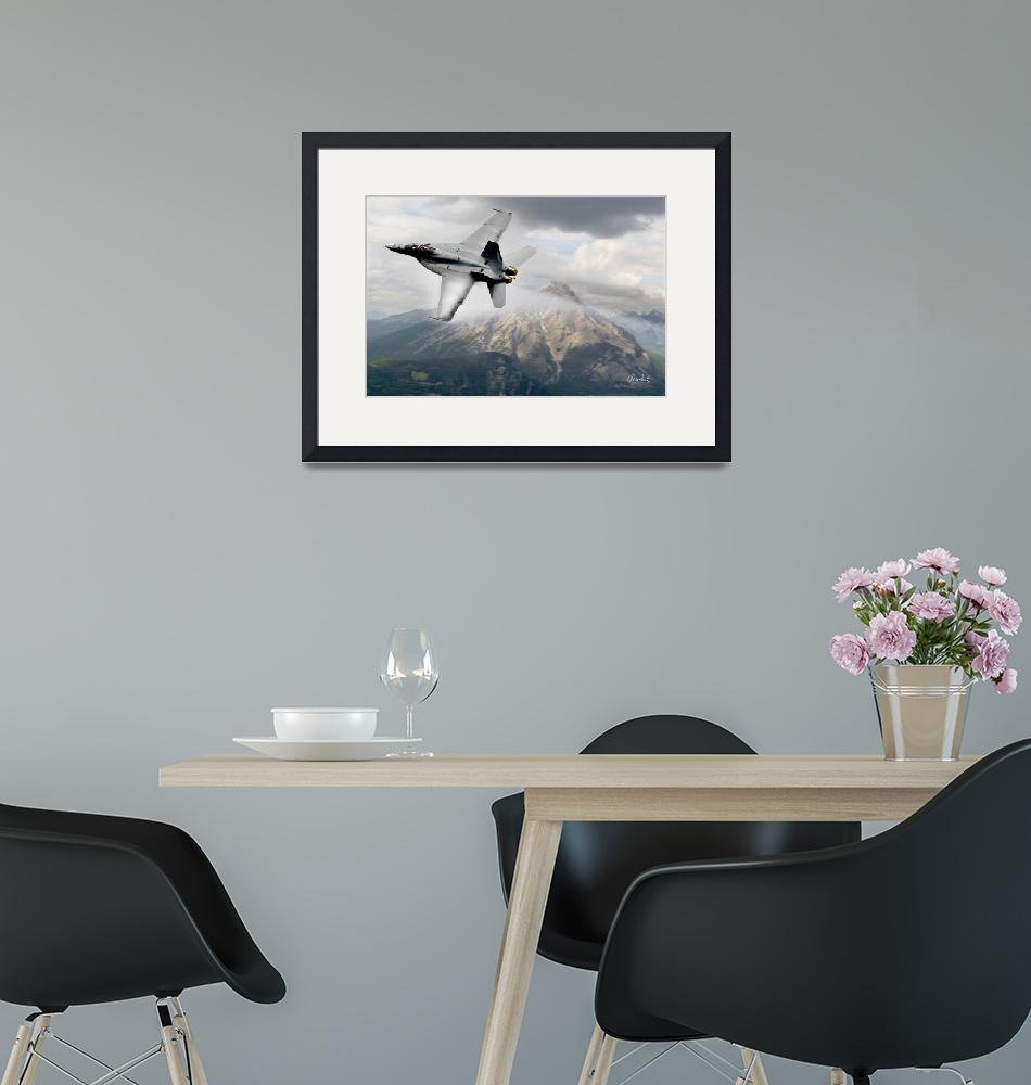 """""""Super Hornet Over the Mountain""""  (2011) by Need4Speed"""