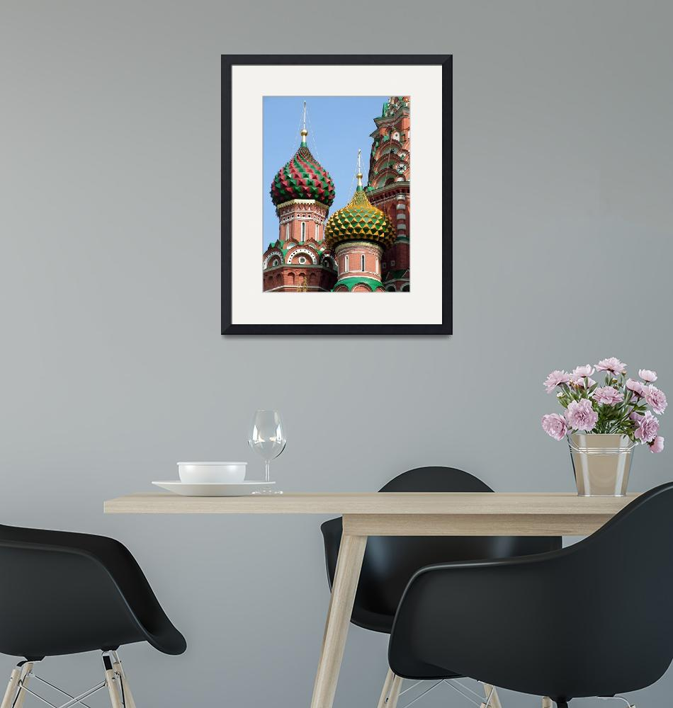 """""""Pointed Domes of St. Basil""""  (2007) by DonnaCorless"""