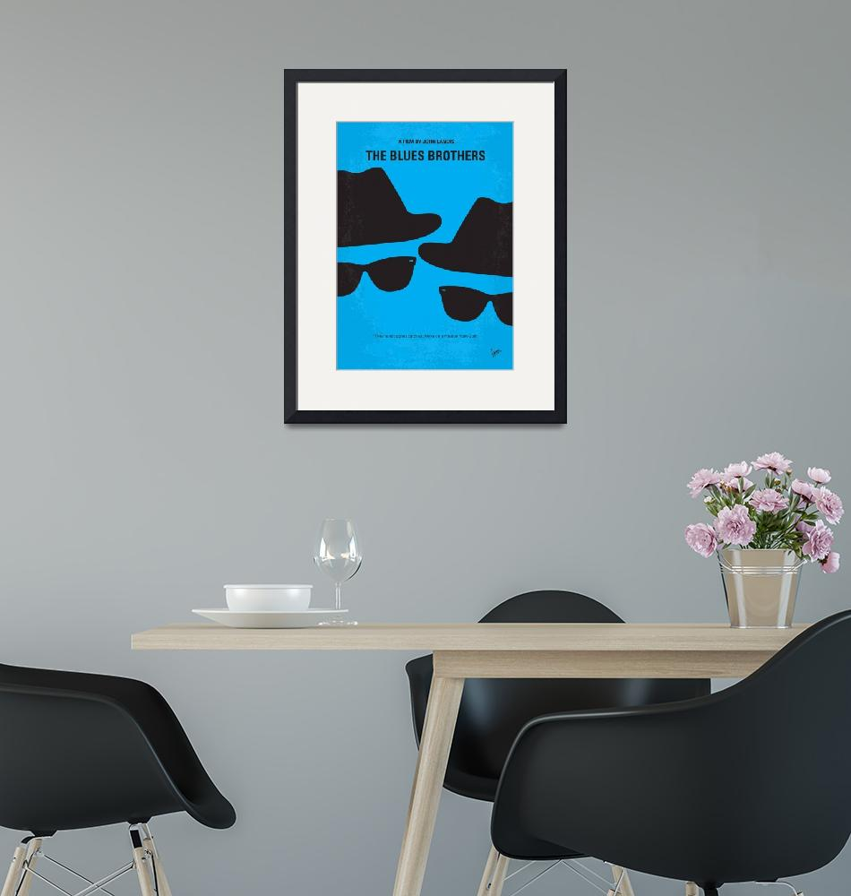 """""""No012 My Blues brother minimal movie poster"""" by Chungkong"""