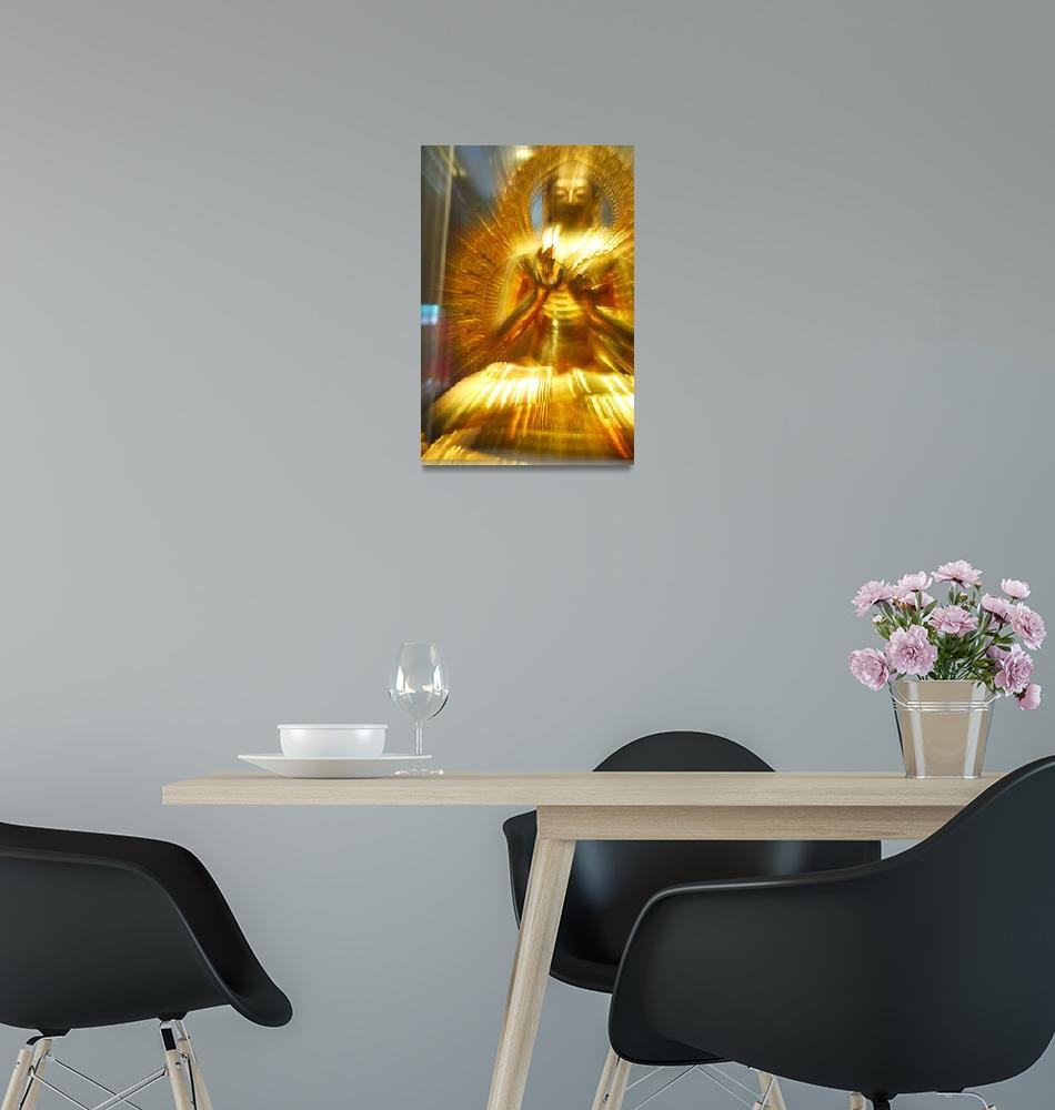 """Budda of Gold""  (2007) by MattParry"