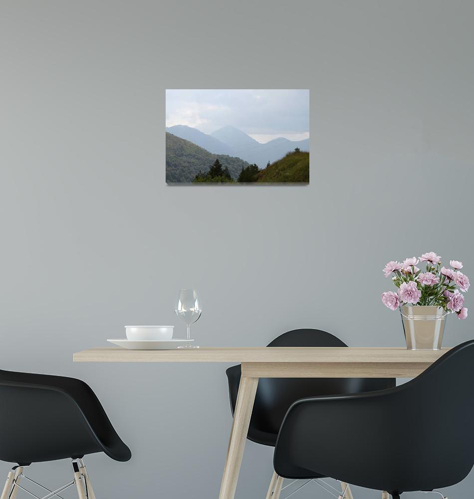 """""""Kosovo mountains""""  (2010) by easyfigure"""