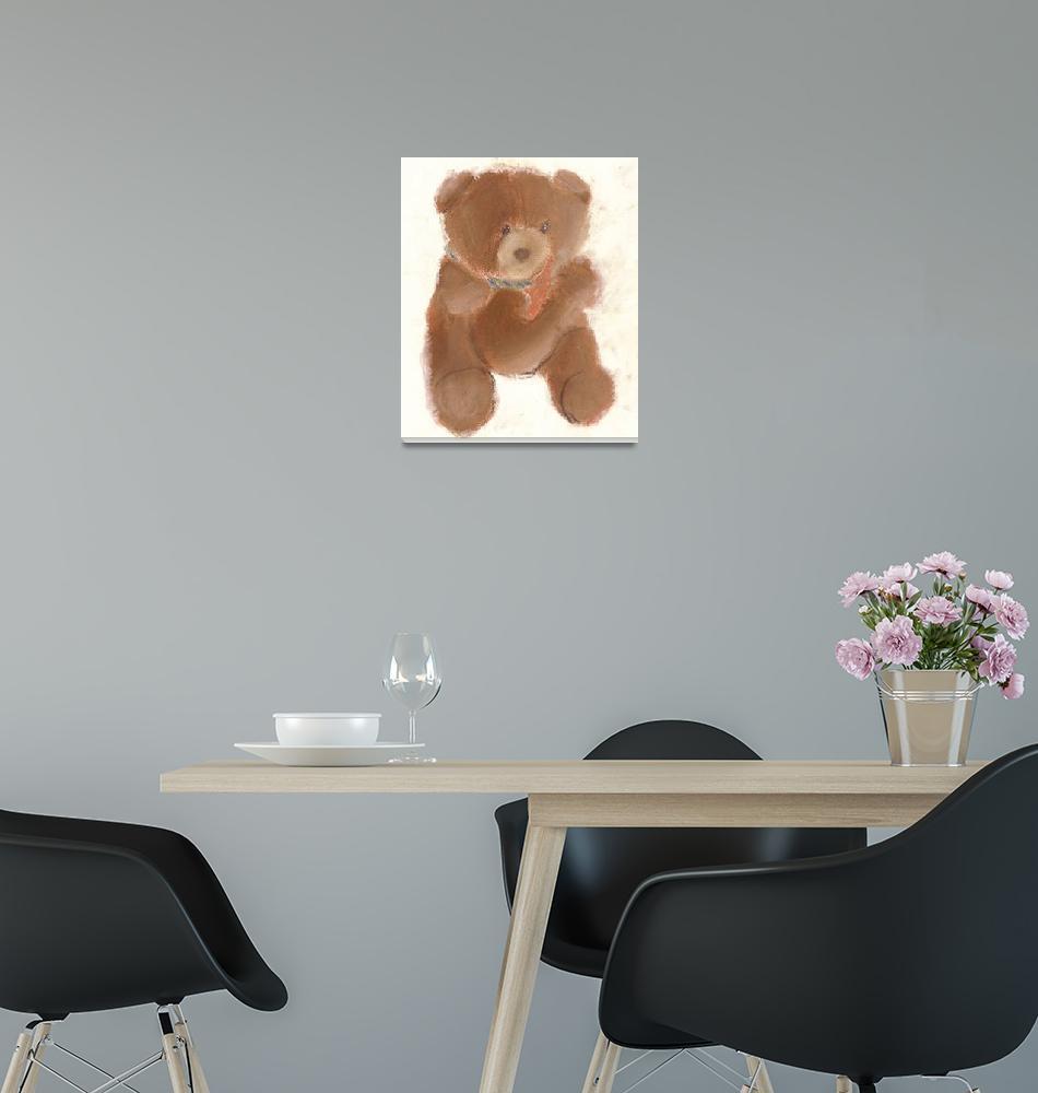 """Tony Bear""  (1996) by RoseanneCarter"