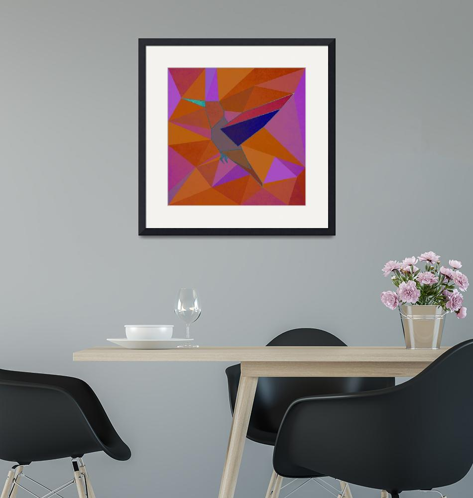 """Hummingbird""  (2018) by Design4uStudio"