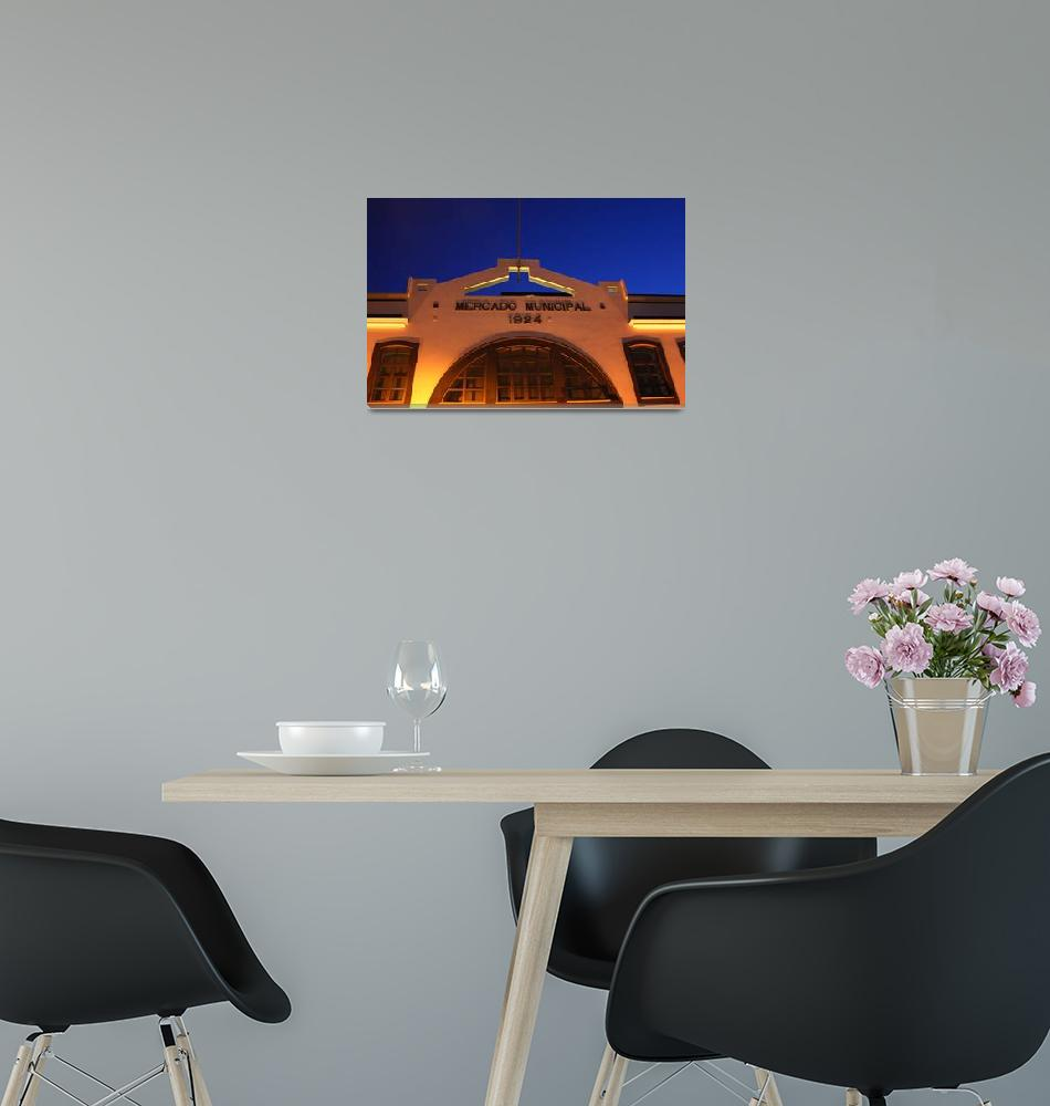 """Art Deco Market""  (2005) by JoaoPonces"