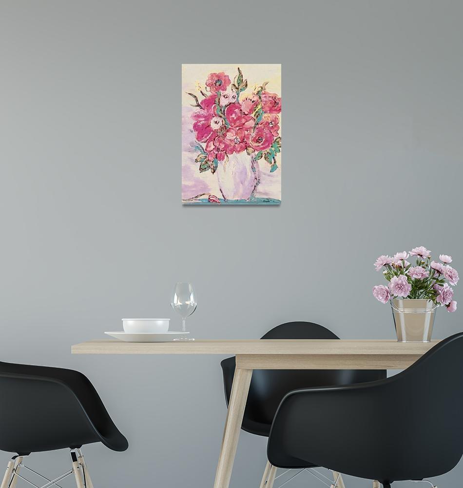 """Pink Still Life""  by EloiseArt"
