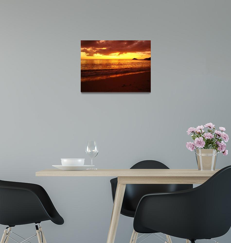"""Summer Sunset""  by alanamitnick"