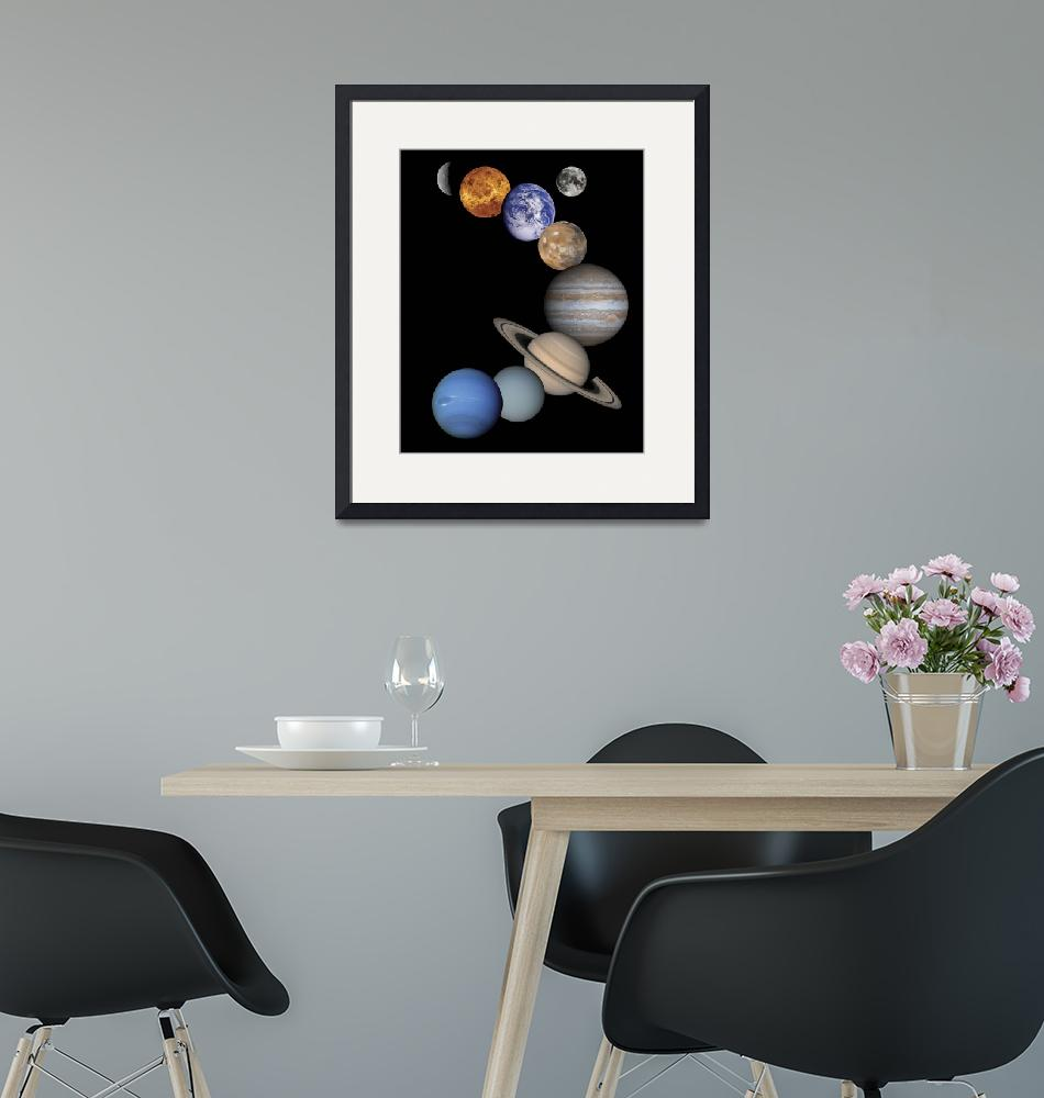"""""""Solar System Planets""""  by ArtLoversOnline"""