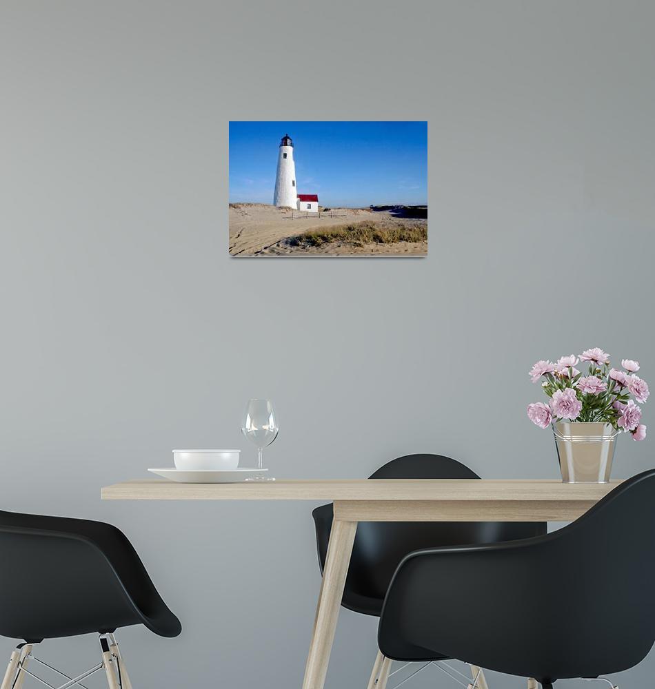 """Great Point Lighthouse (Nantucket, MA)""  (2014) by ChrisSeufert"