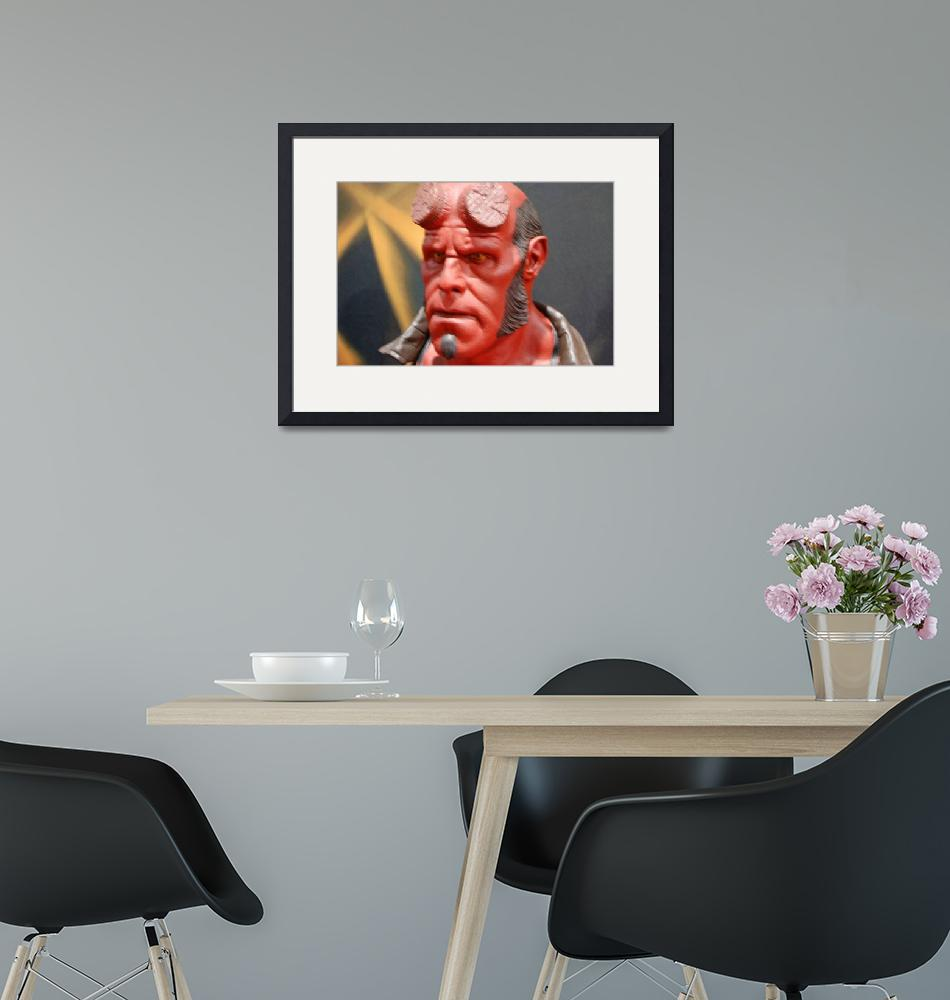 """""""Hellboy""""  (2008) by Butchspetsupplies"""