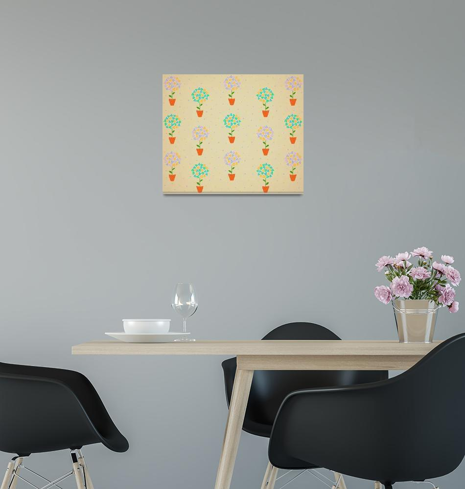 """Floral Illustration""  (2016) by CristinaBianco"