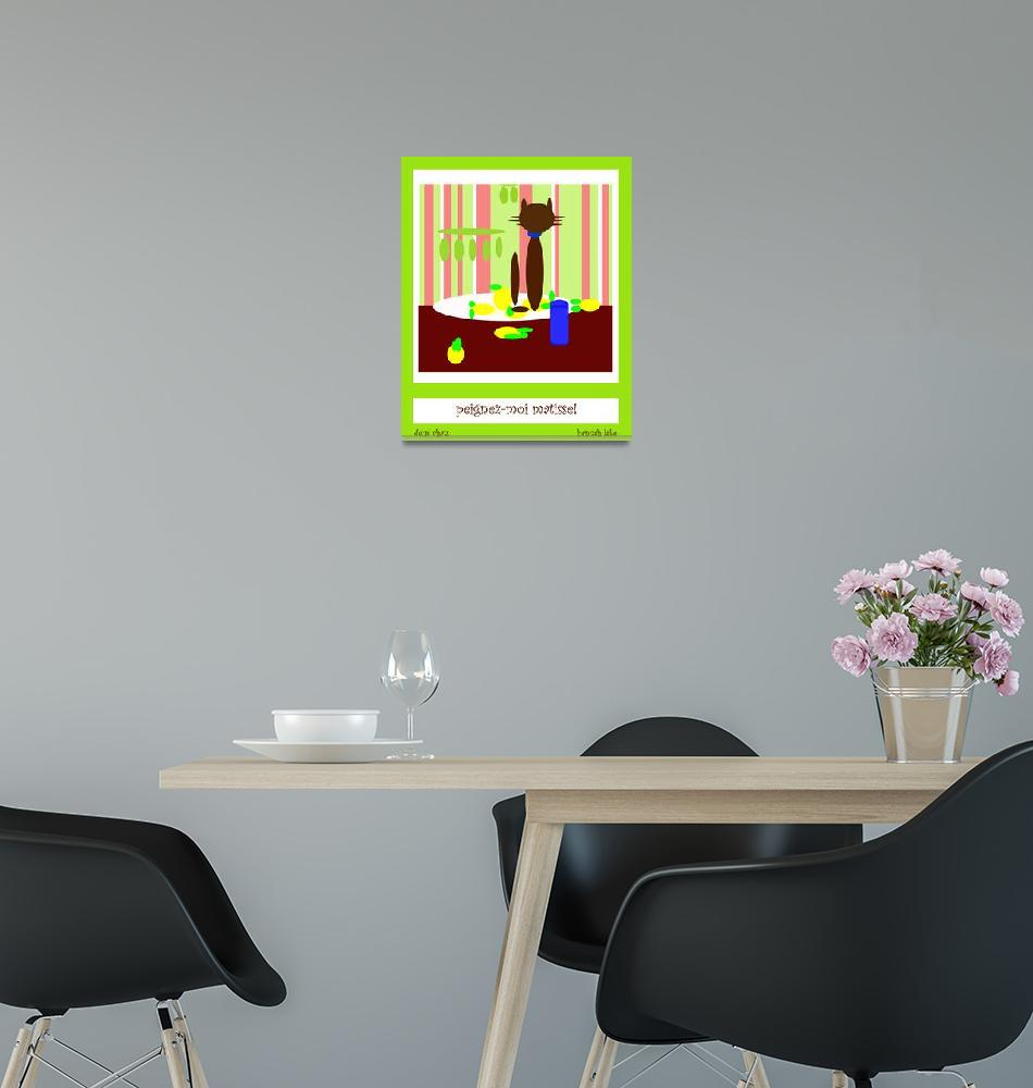 """Paint me, Matisse!""  (2012) by hannahlake"