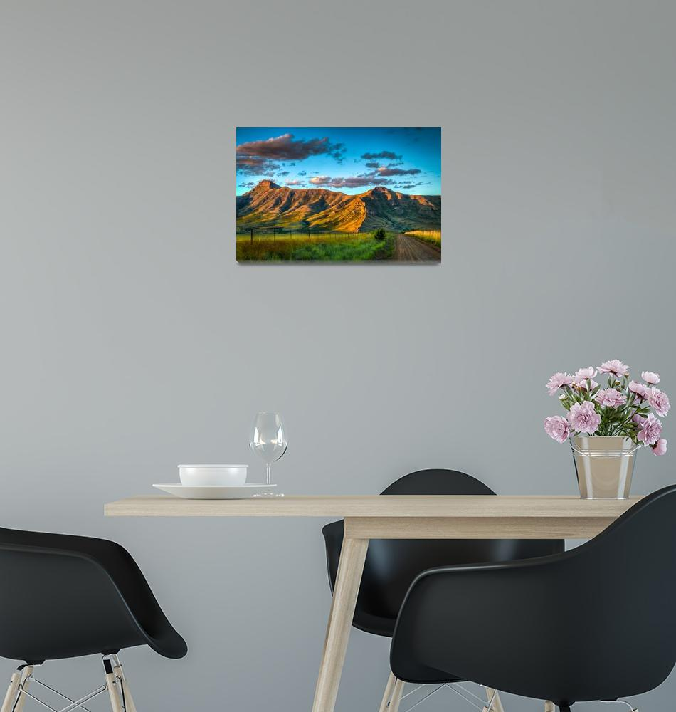 """""""Lesotho View""""  (2013) by JRdToit"""