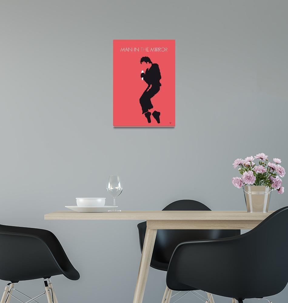"""No032 MY MICHAEL JACKSON Minimal Music poster""  by Chungkong"