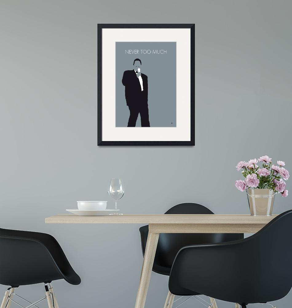 """""""No287 MY Luther Vandross Minimal Music poster""""  by Chungkong"""