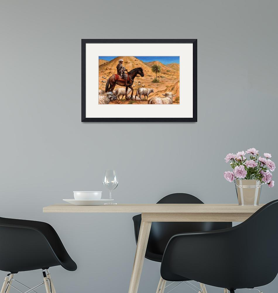 """""""The Barb Horse of Africa""""  (2011) by jacksby"""