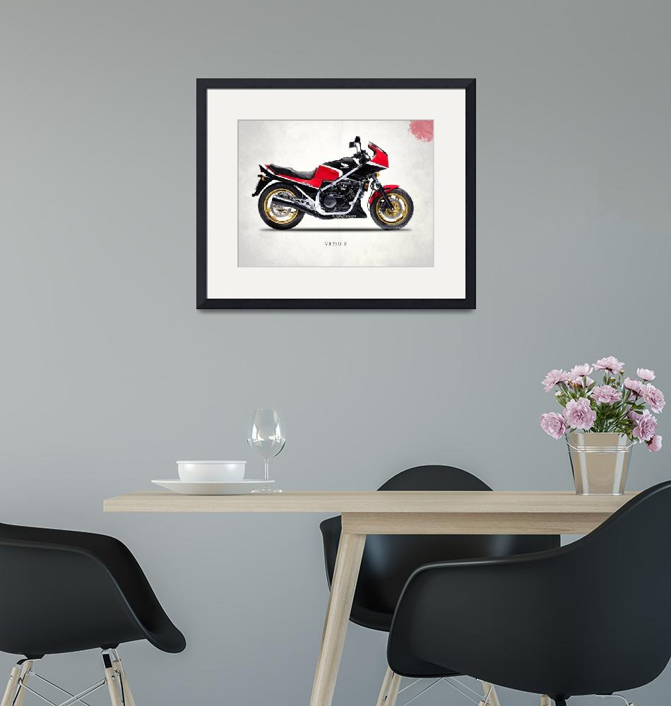 """""""The VF750F Classic Motorcycle""""  by mark-rogan"""
