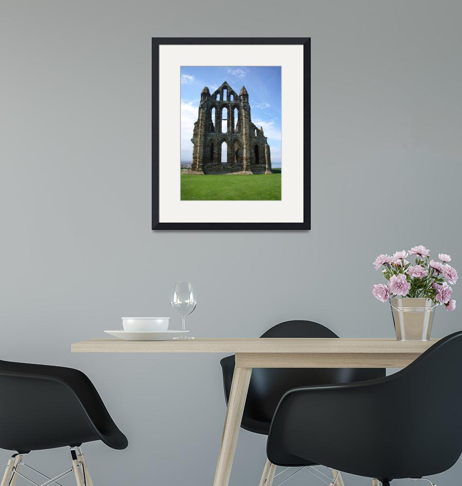 """""""whitby abbey""""  by sacreddestinations"""