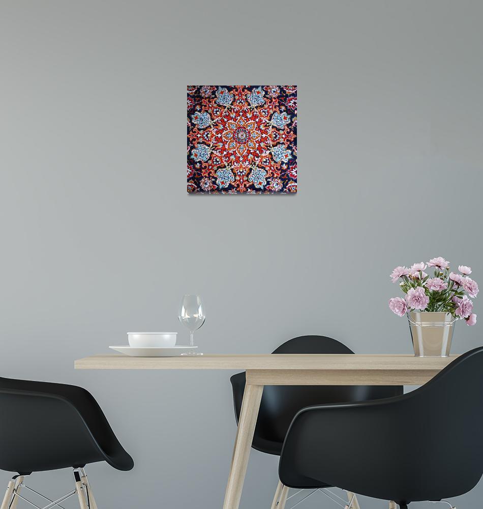 """""""Persian art: Carpet - 1""""  by Vahid"""