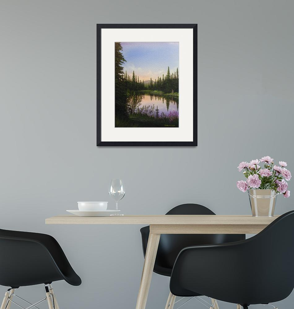 """""""Payette Lake #1""""  (2009) by rsummers"""