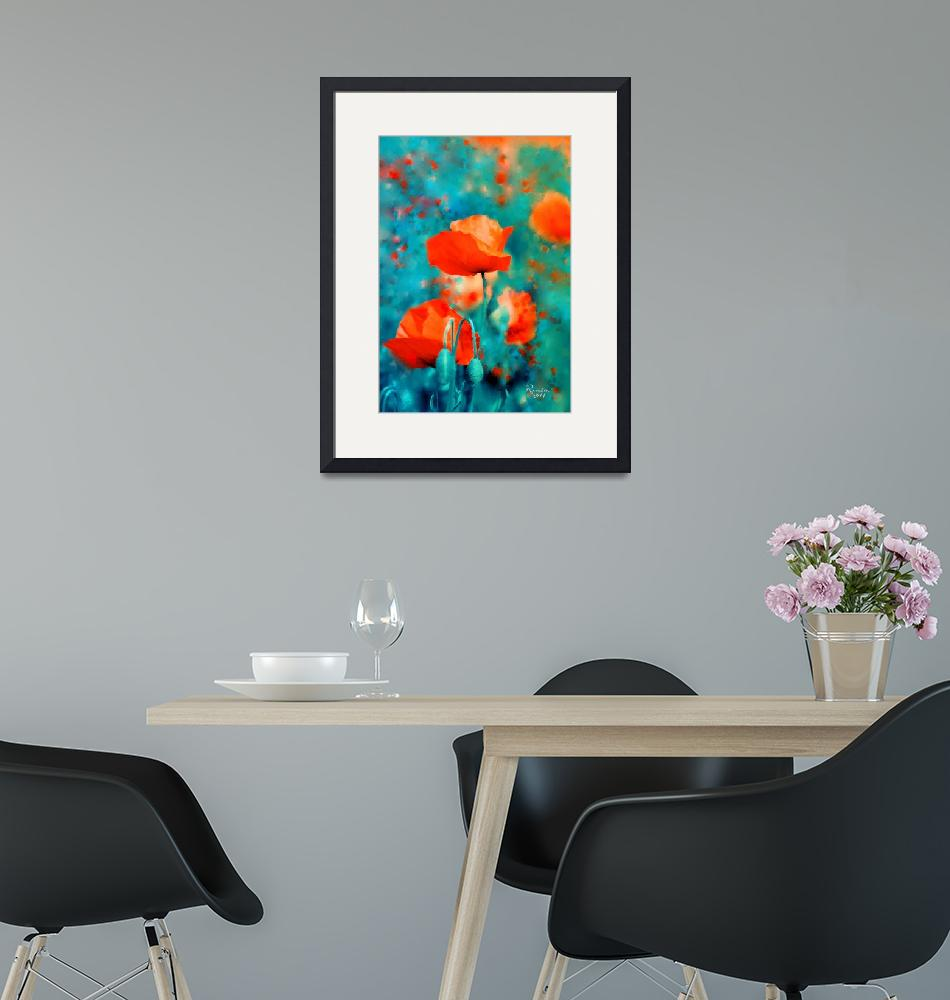 """""""Poppies"""" (2011) by rosalin"""