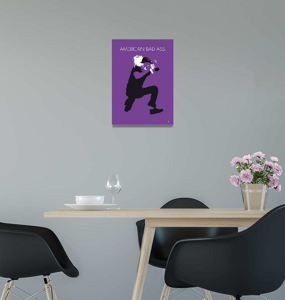 """""""No181 MY Kid Rock Minimal Music poster""""  by Chungkong"""
