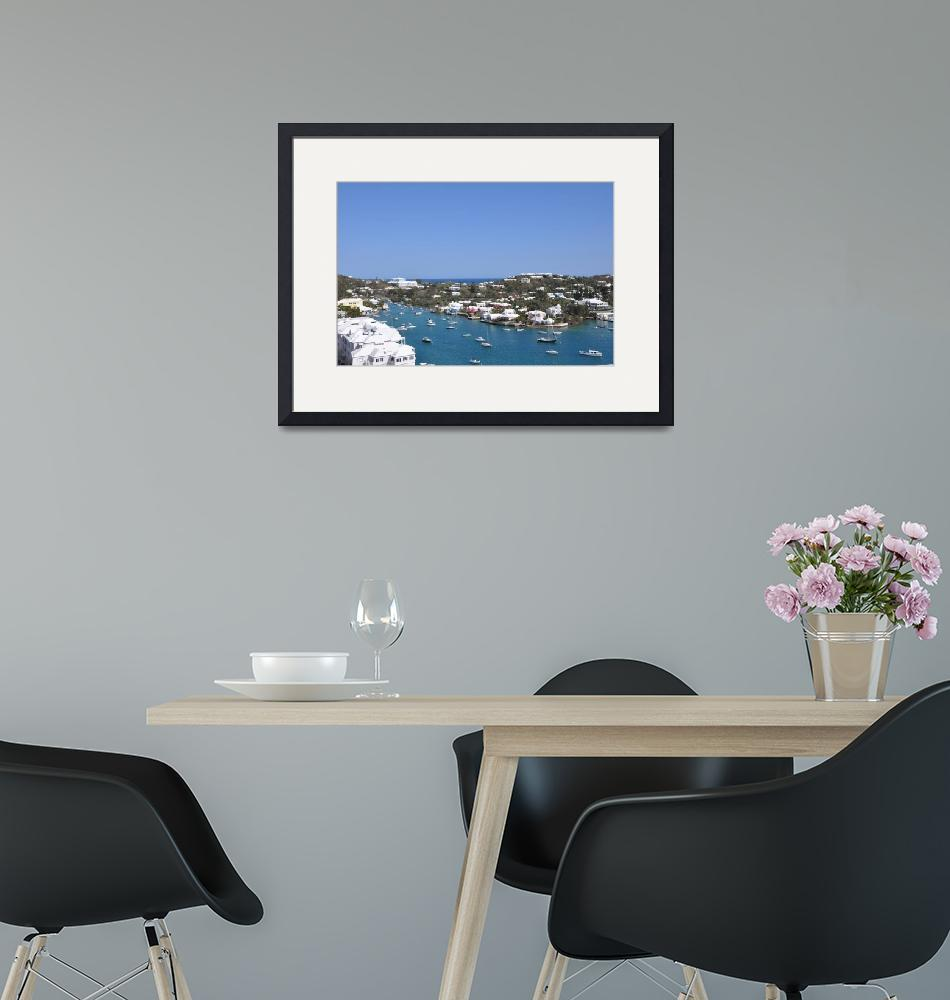 """""""beautiful harbour""""  (2011) by Yhan"""