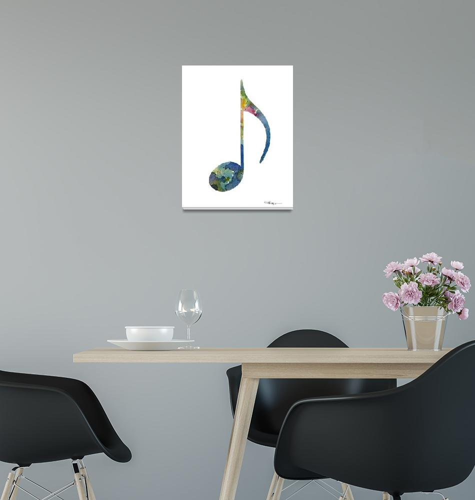 """""""Musical Note""""  (2015) by k9artgallery"""