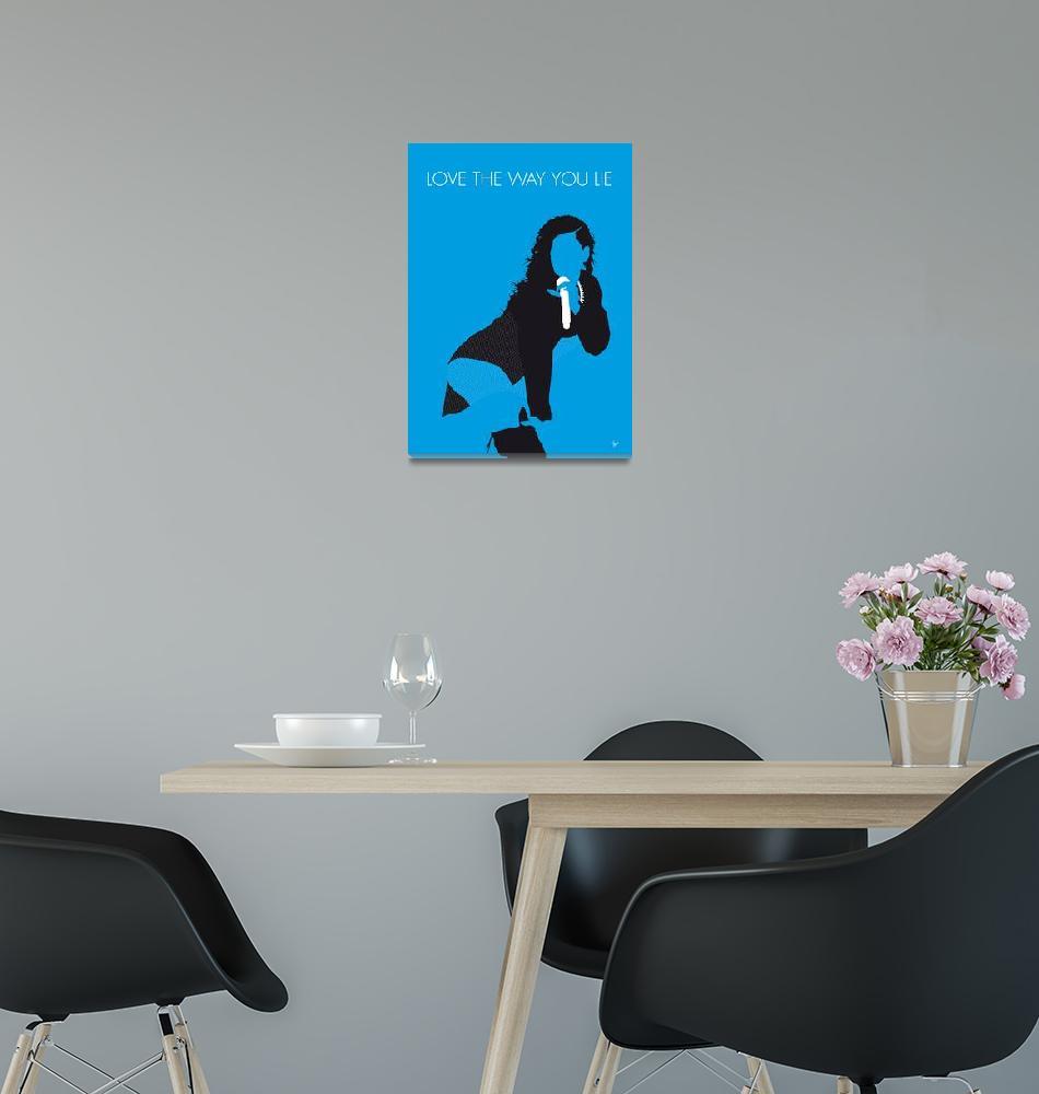 """""""No179 MY Rihanna Minimal Music poster""""  by Chungkong"""