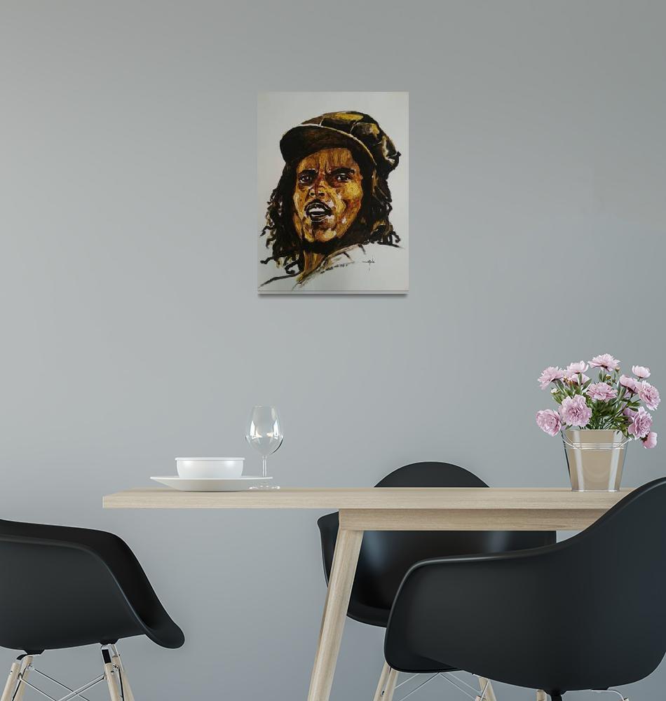 """Bob Marley""  (2013) by AllPointsBulletin"