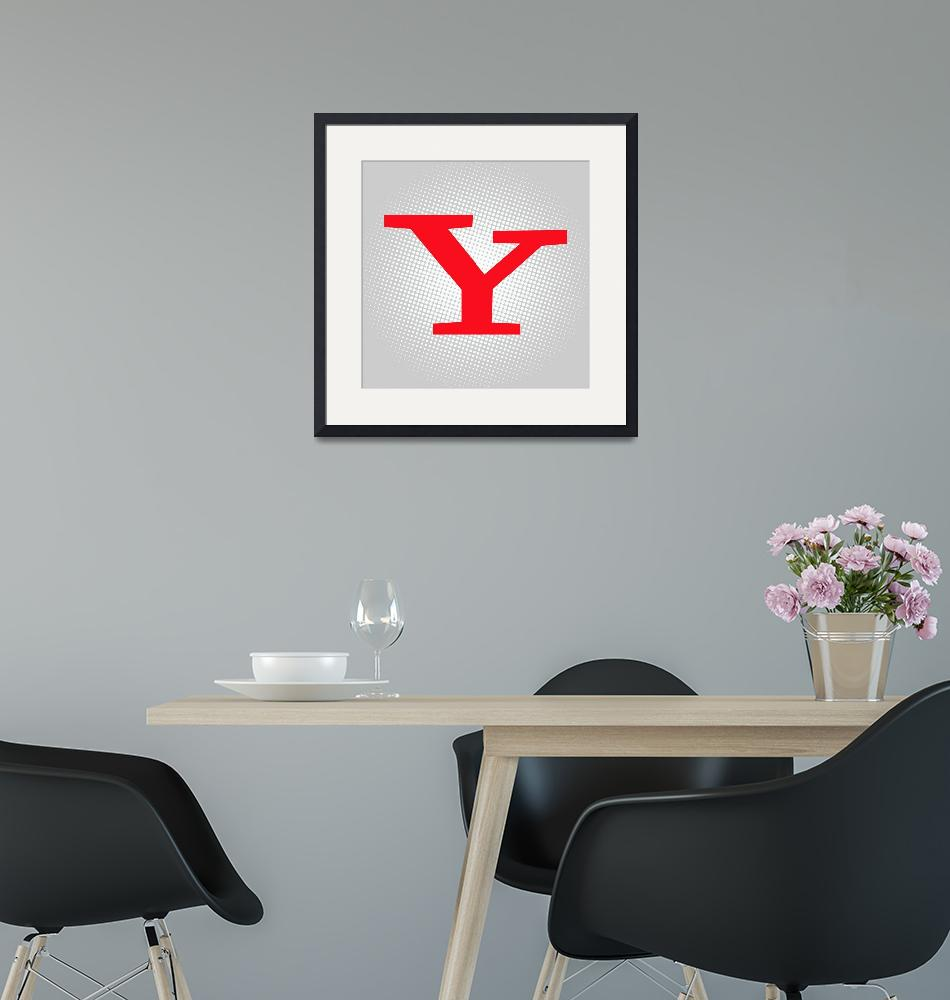 """""""Y-yahoo""""  by LetterPopArt"""