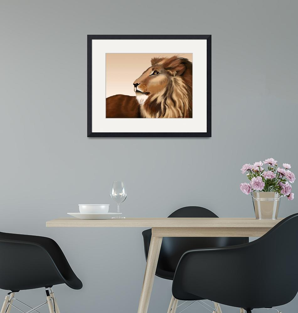 """""""Lion King""""  (2008) by oilnwine"""