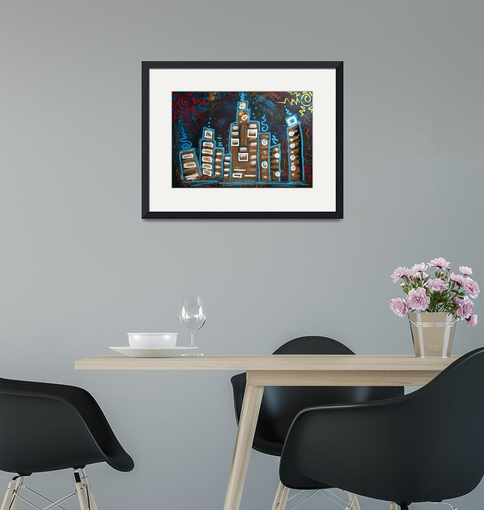 """""""City Of Two Suns""""  (2009) by ArtPrints"""