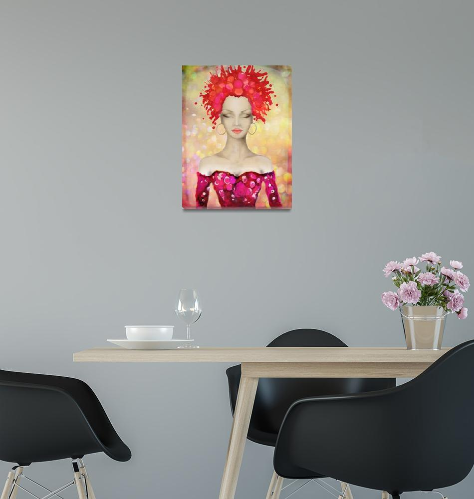 """""""Crazy Pink Hair night out""""  by Art_by_Lilia"""
