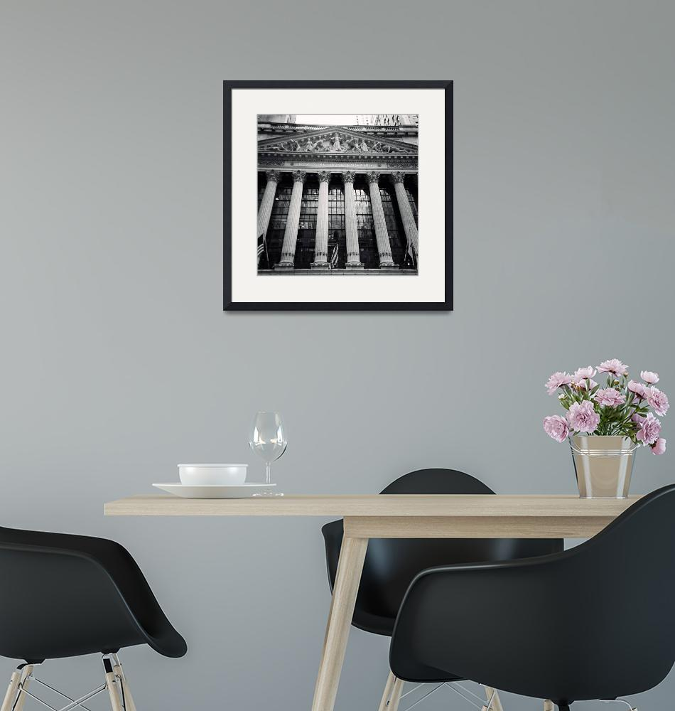 """""""New York Stock Exchange"""" (2014) by gcr"""