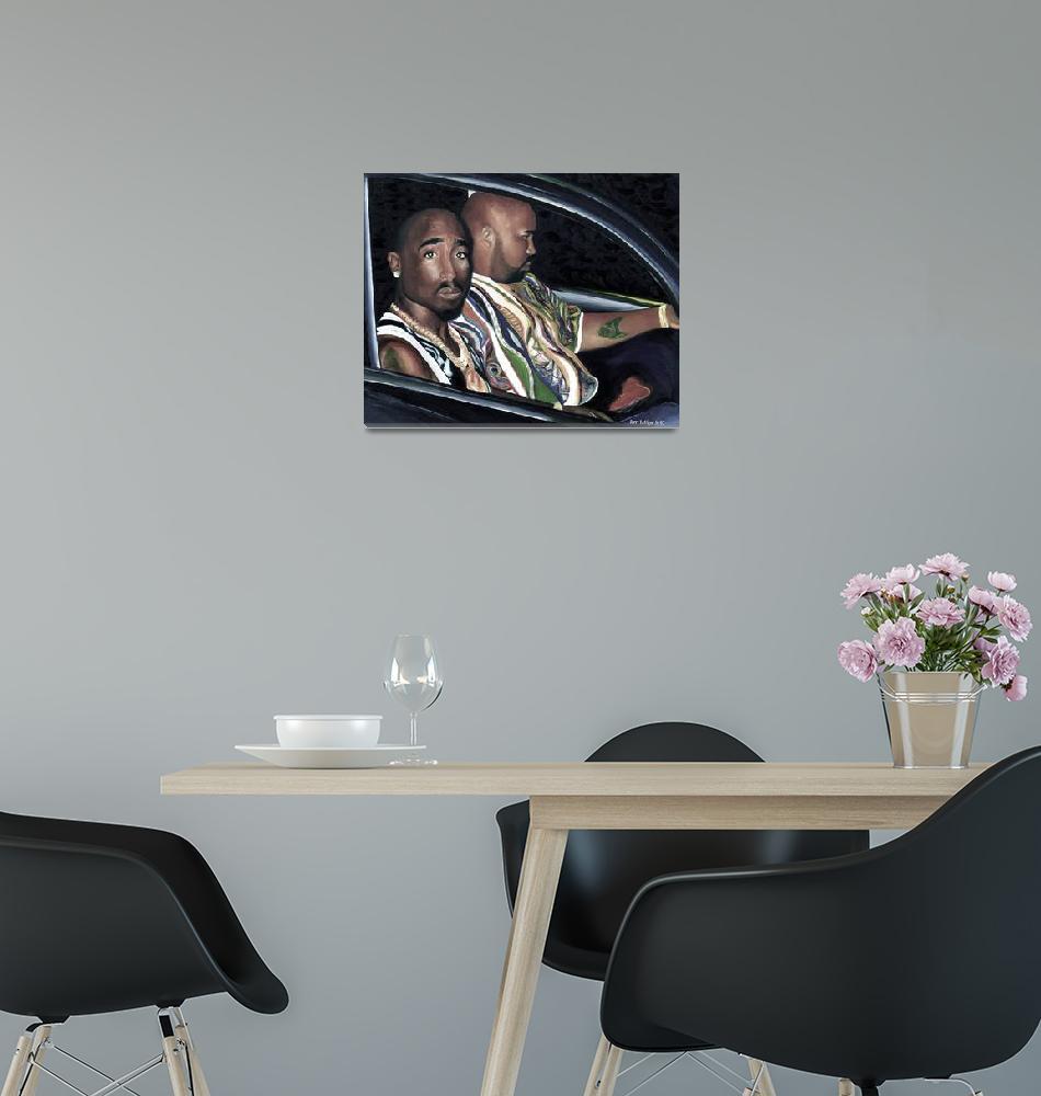 """Tupac Shakur ""Last Seen""""  by jerrylavignejr"