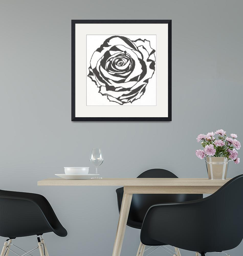 """""""White Rose""""  (2014) by embali"""