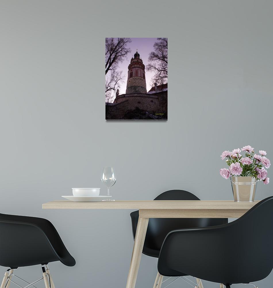 """Czesky Krumlov Castle, Czech Republic""  (2010) by RonBarnes"