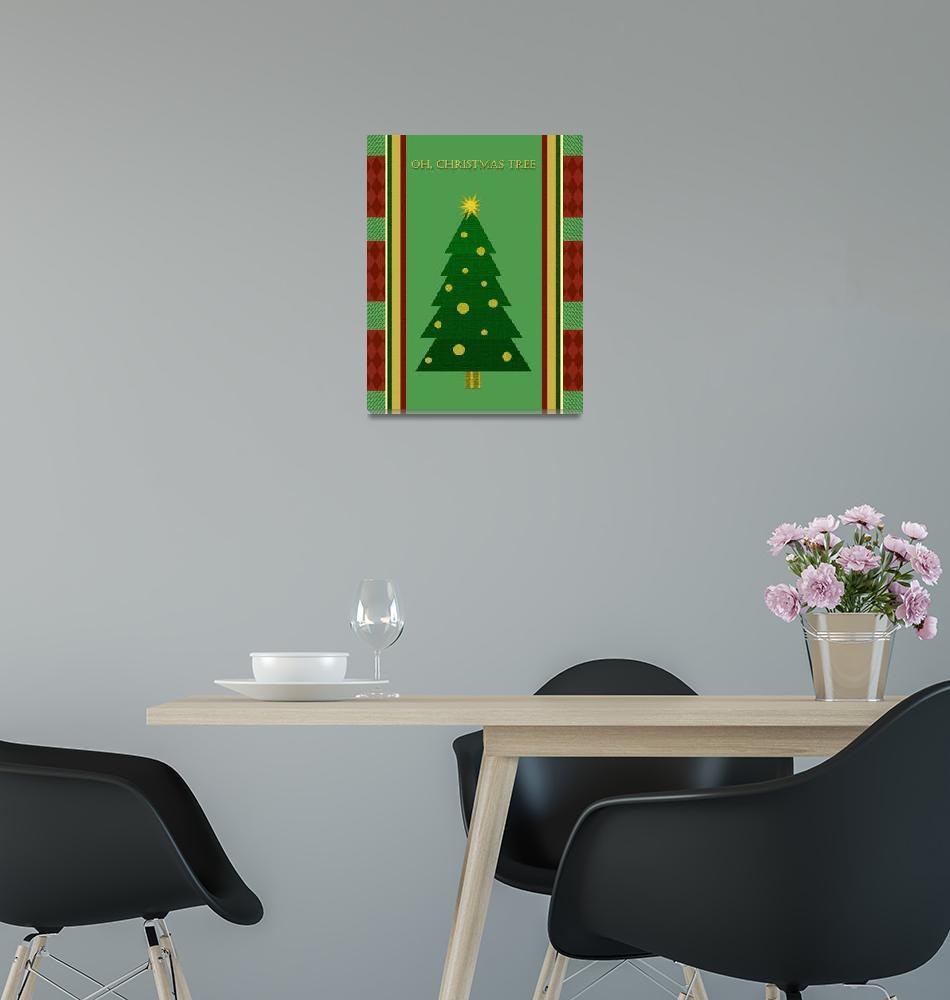 """""""Oh, Christmas Tree""""  (2012) by Ninasart"""