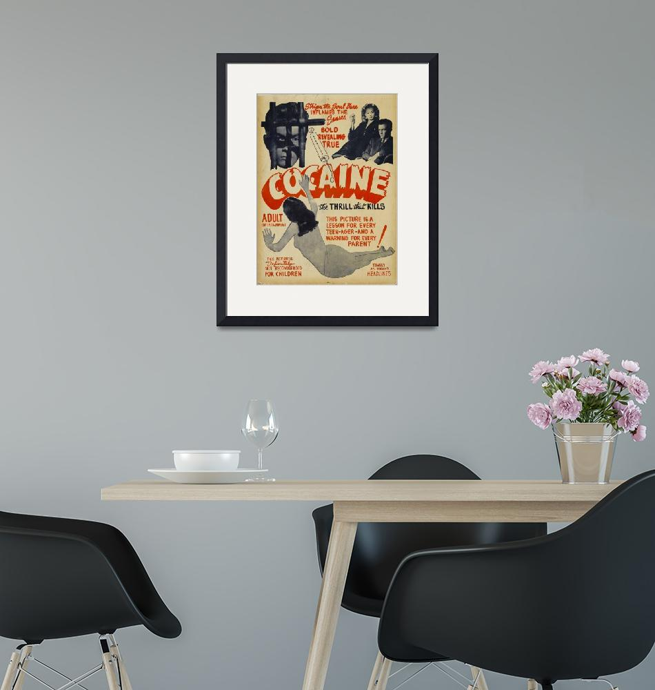 """The PaceThat Kills Vintage Movie Poster""  by FineArtClassics"