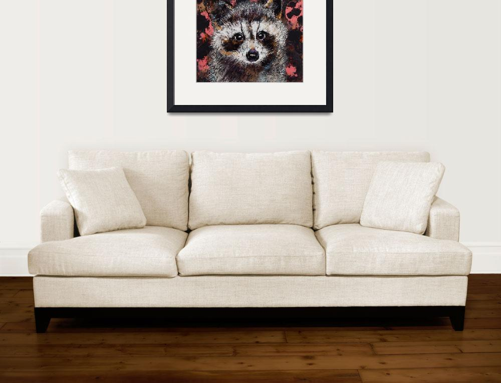 """""""Baby Raccoon&quot  by creese"""