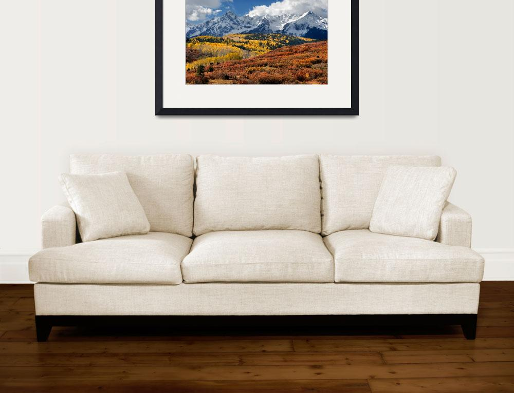 """""""The San Juan Mountains In Fall&quot  (2009) by pbk"""