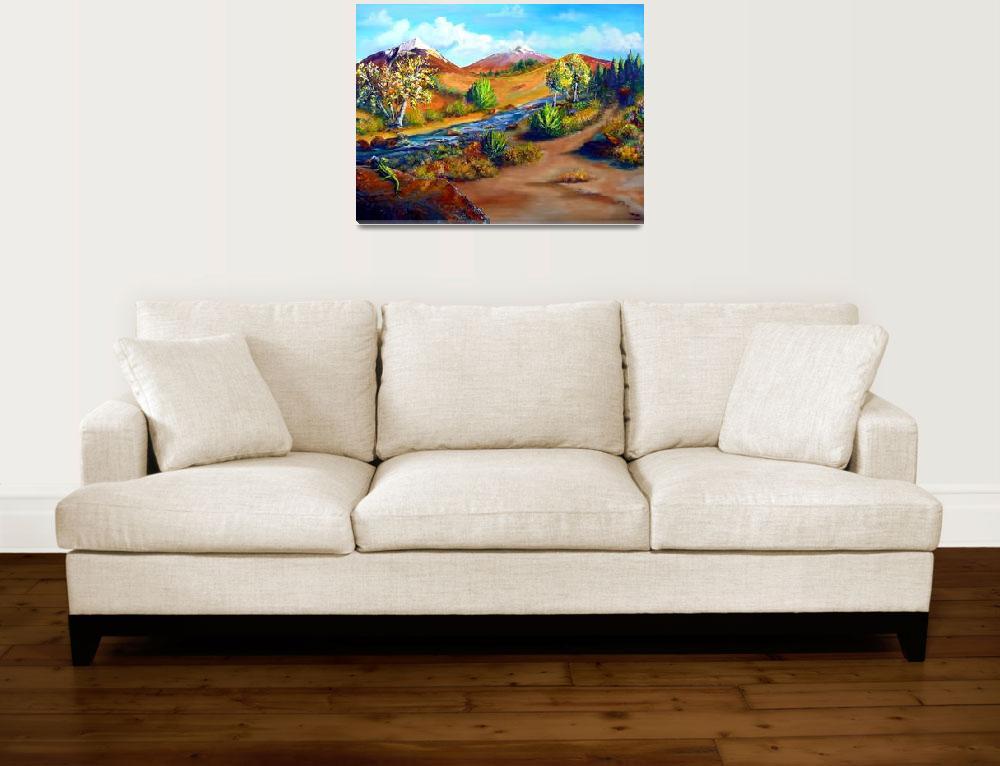 """""""High Desert""""  (2013) by KrisCourtney"""