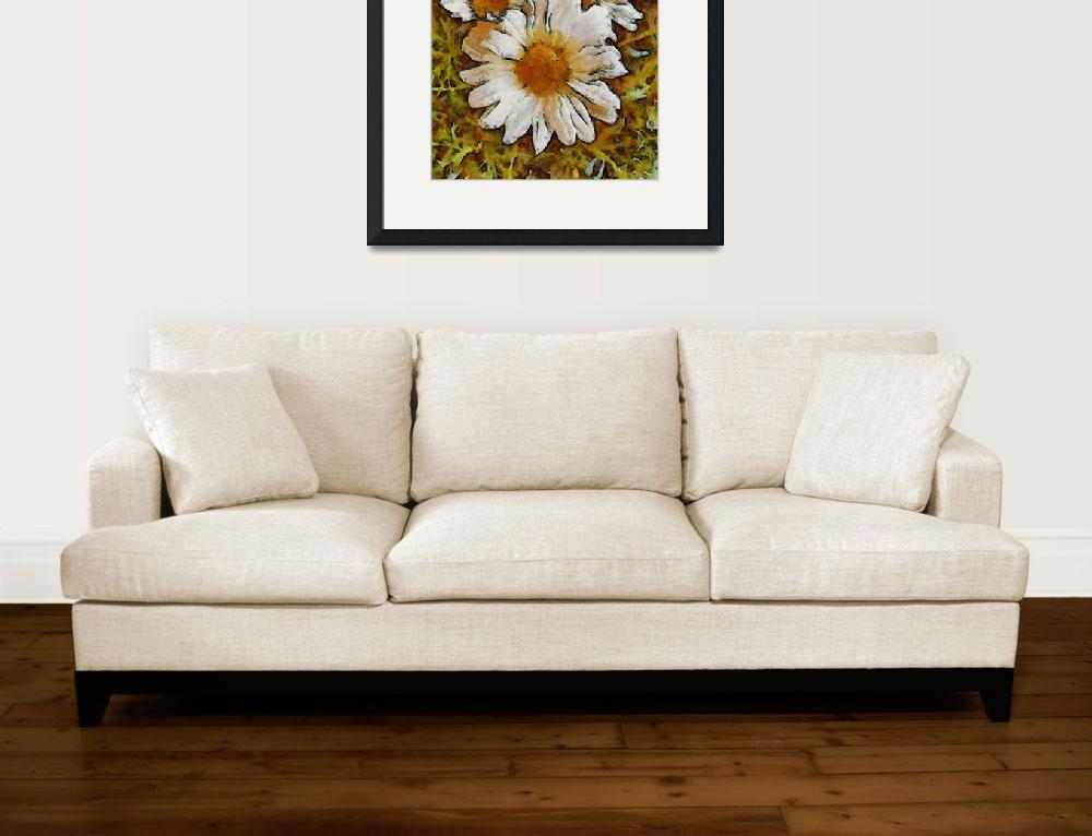 """""""Daisies Three&quot  (2011) by leapdaybride"""